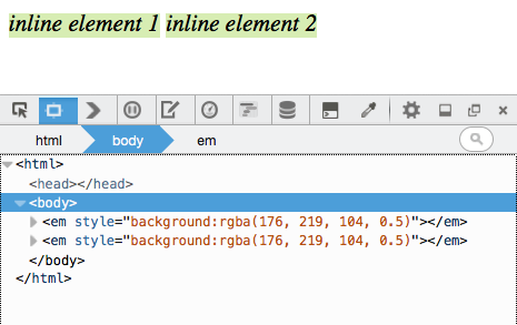 Understanding The Css Box Model For Inline Elements Mozilla Hacks
