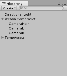 WebVRCameraSet を利用する