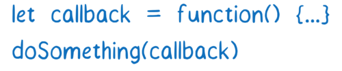Defining a callback and passing it into a function