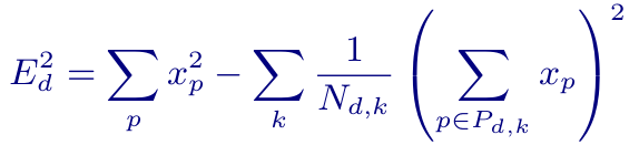 equation for determining filter direction
