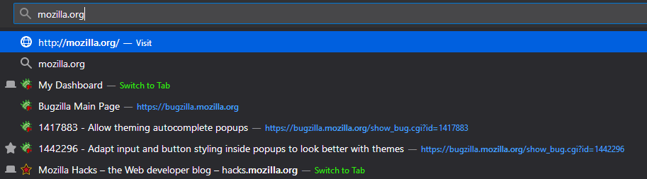 The Top Image Shows Auto Complete Popup With Native Default Theme While Bottom Dark Enabled