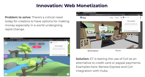 Innovation: Web Monetization